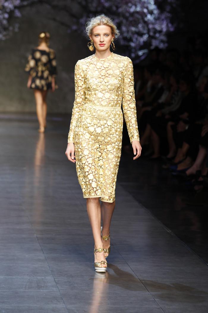 Abiti Eleganti Dolce E Gabbana.Dolce Gabbana Spunti Glam Per Abiti Da Sposa Fashion Dalla
