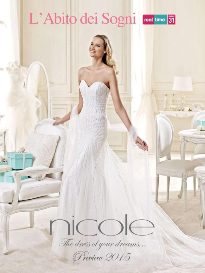 d97adfc34738 Nicole Spose   arriva la maestosa collezione 2015 di abiti da sposa ...