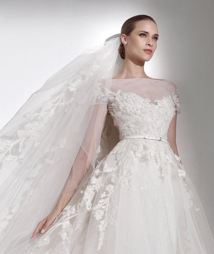 726167ac46a5 Pronovias collezione Elie By Elie Saab 2015 abiti sposa modello Mauricio3