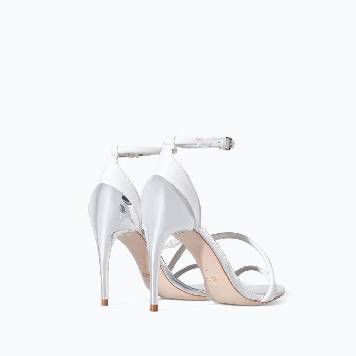 Zara : deliziosi sandali da sposa a stiletto e low cost