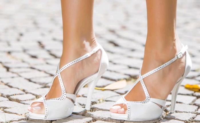 new arrival 3d282 19c9d Francesco Italy : Tolosa, le scarpe da sposa glamour tra ...