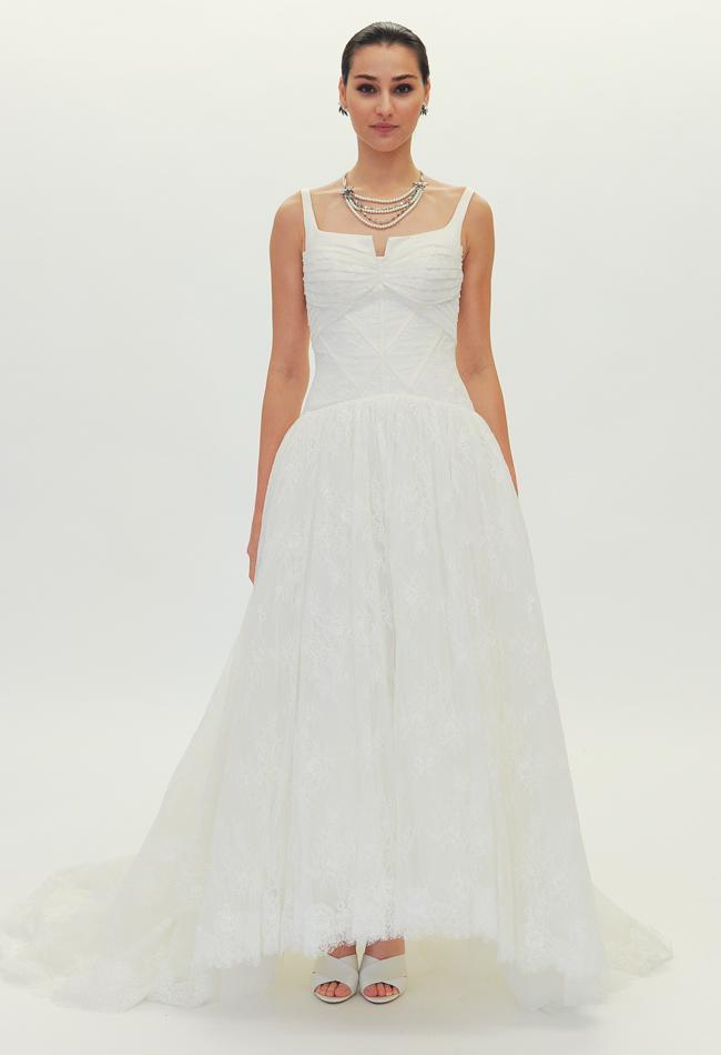 Truly zac posen la nuova collezione bridal 2015 tra for Stile minimal chic