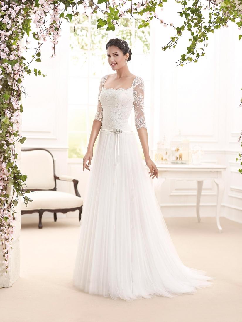timeless design 2a6dd 057ca Novia D Art collezione 2016 abiti sposa modello Armani ...