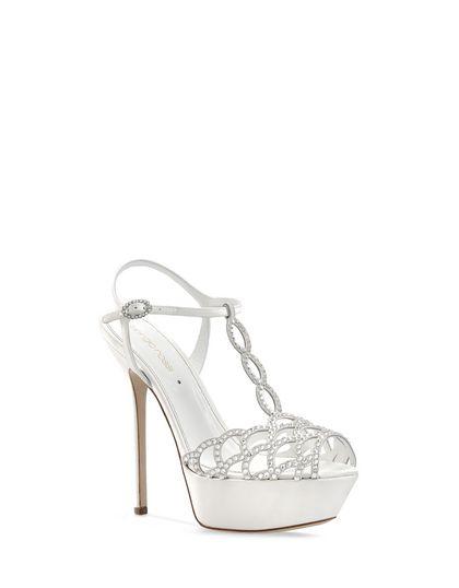 sale retailer cf7ba 0034a Sergio Rossi : le seducenti scarpe da sposa glamour della ...