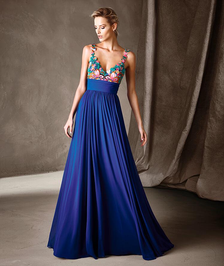 Vestiti Cerimonia Lunghi Blu.Abiti Sera 362b53