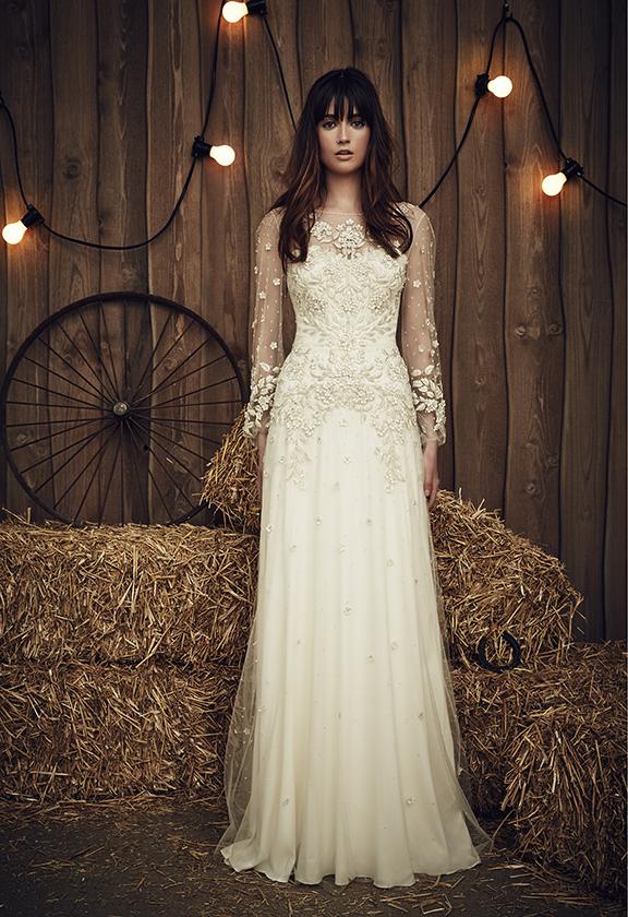 Abiti Da Sposa Jenny Packham.Jenny Packham Collezione 2017 Abiti Sposa Modello Apache Ivory