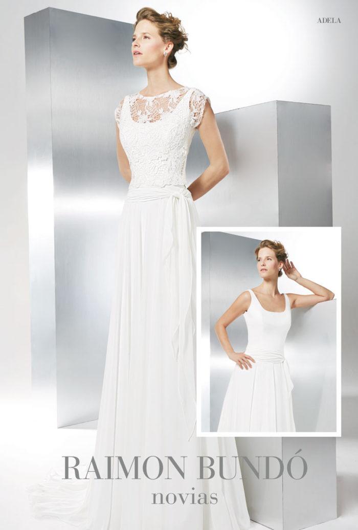 abito-sposa-Raimon Bundo-modello-Adela