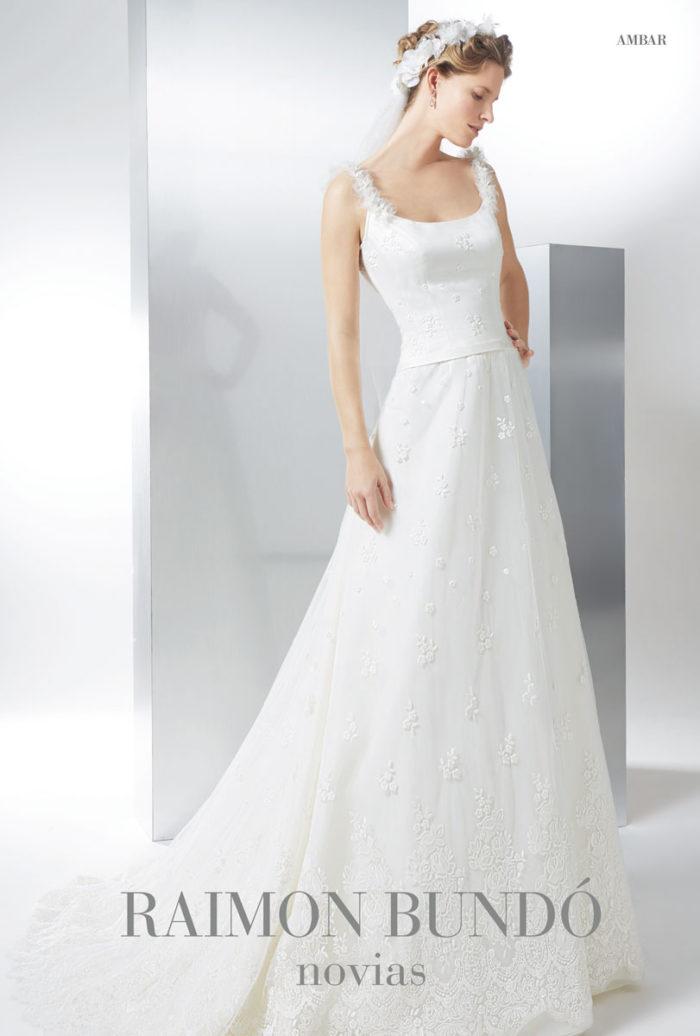 abito-sposa-Raimon Bundo-modello-ambar