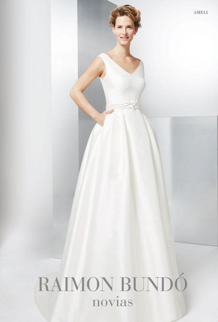 abito-sposa-Raimon Bundo-modello-ameli