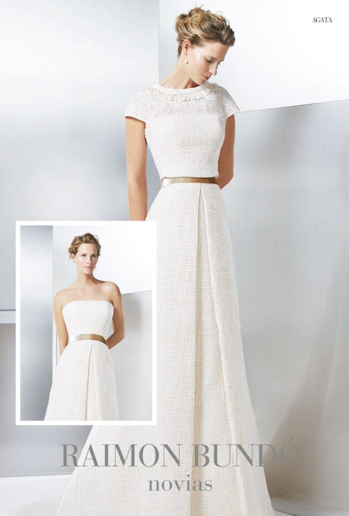 abito-sposa-Raimon Bundo- modello-agata