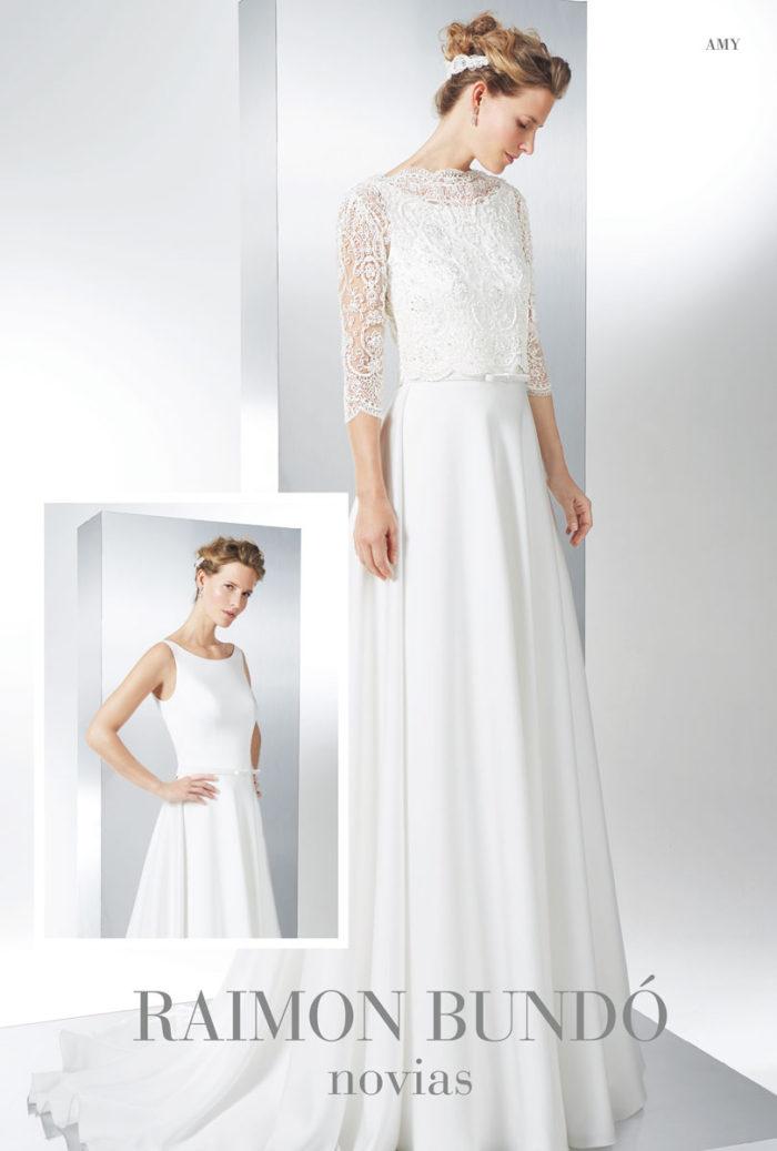 abito-sposa-Raimon Bundo-modello- Amy