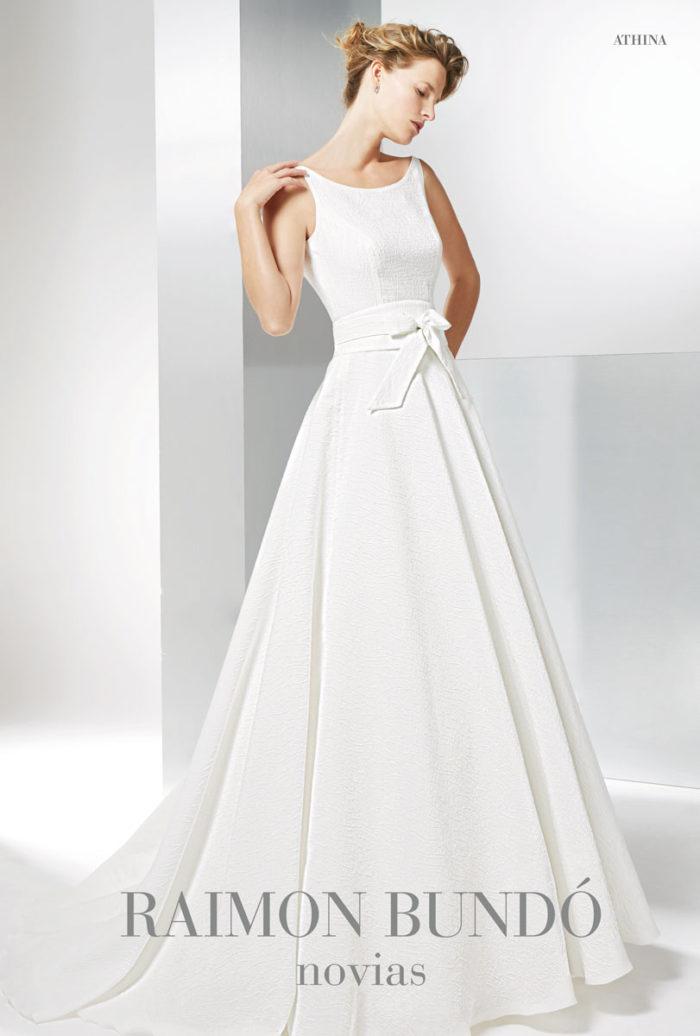 abito-sposa-Raimon Bundo-modello-Athina