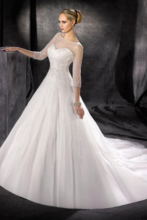 abito-sposa-Kelly Star-2017-modello-176-34