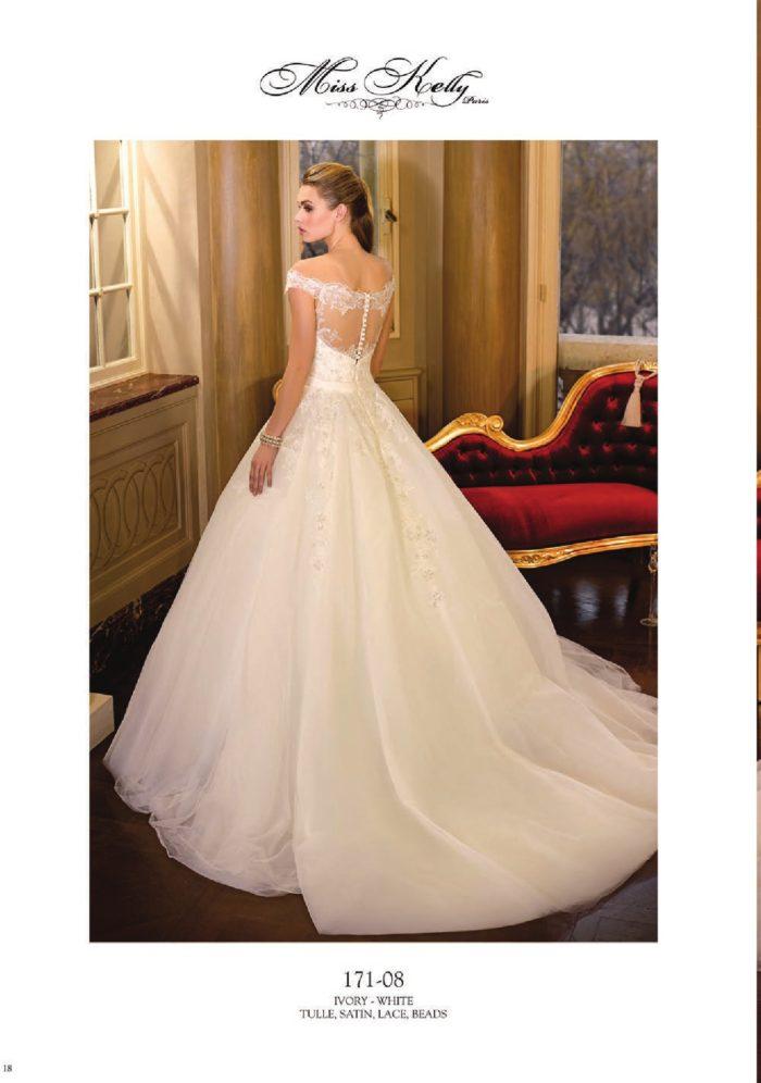 abito-sposa-Miss Kelly-2017-modello-171-08-retro