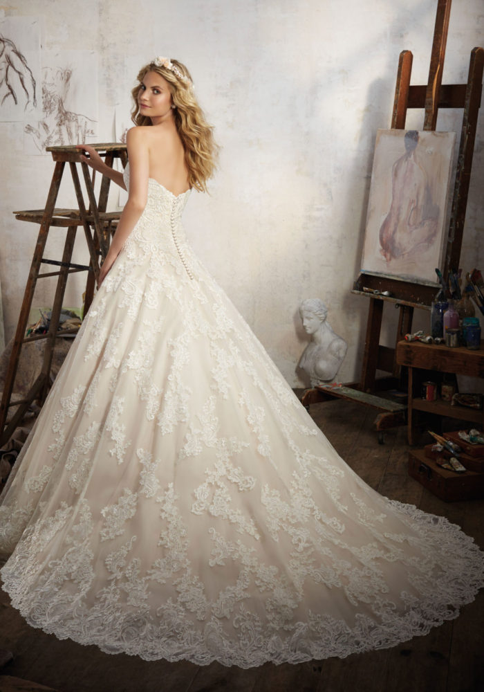 abito-sposa-Mori Lee-2017-modello-magdalena