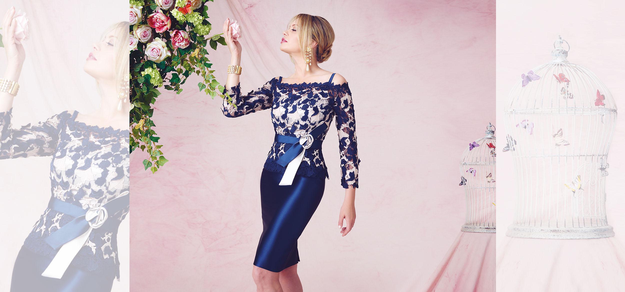 wholesale dealer e4162 12f8d Musani collezione Couture 2016 abiti cerimonia donna (36 ...