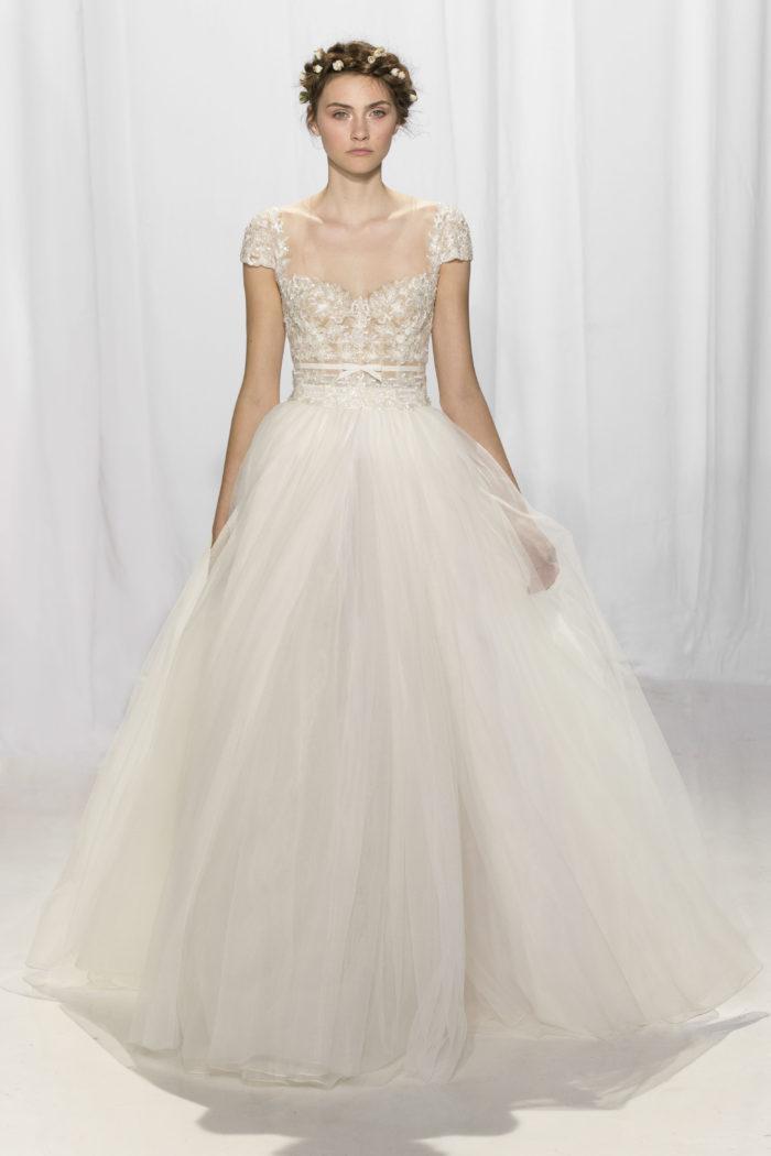 abito-sposa-Reem Acra-2017-modello-look 14-Angela