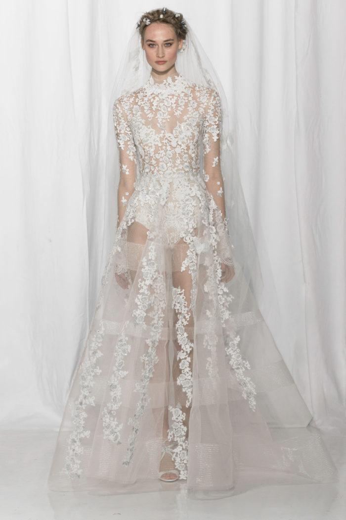 abito-sposa-Reem Acra-2017-modello-look 26-couture