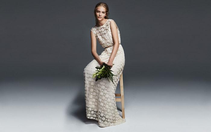 abito-sposa-Max Mara-2017-modello-Elodea