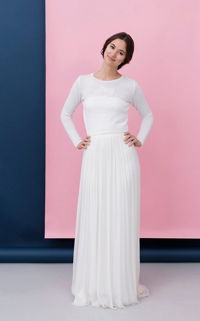 12c3de482bd6 non per la principessa classica che la tradizione nuziale caratterizza   questa è la collezione bridal 2017 di Kisui Berlin.