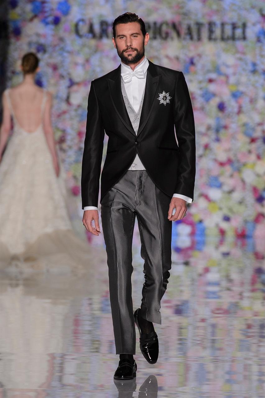 nuovo stile di vita enorme inventario qualità affidabile Carlo Pignatelli collezione 2018 abiti sposo cerimonia uomo ...